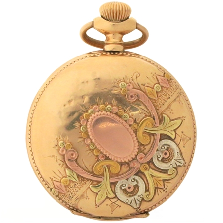 Very Special Antique Watch Case with Gold