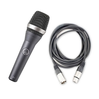 AKG D5 Vocal Hand-Held Microphone with AxcessAbles 20ft XLR Cable
