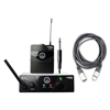 AKG WMS 40 PRO Mini Instrumental Wireless System BAND A with 20ft XLR Cable