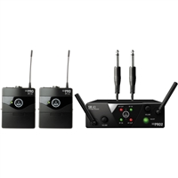AKG WMS 40 Mini Dual Guitar Wireless System, AKGWMS40MINI2I45A, WMS40MINI2I45A
