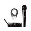 AKG WMS 40 MINI Vocal Handheld Wireless Microphone System Band A 660.700 MHz with Cable
