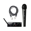 AKG WMS 40 MINI Vocal Handheld Wireless  Microphone System Band B with AxcessAbles XLR Cable