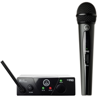 AKG WMS 40 Mini Vocal Wireless Microphone Set C, AKGWMS40V45C, WMS40V45C