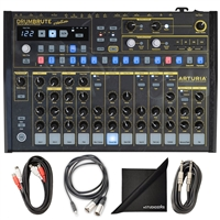 Artruia DrumBrute Analog drum Machine - Creation Edition w/ AxcessAbles Cable Pack