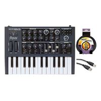 Arturia Micro Brute Analog Synthesizer with USB and Instrument Cables