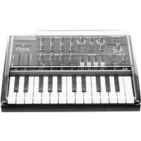 Arturia MicroBrute 25 Mini Key Analog Synthesizer with Decksaver MicroBrute Protective Cover