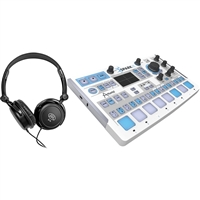 Arturia Sparkle Controller Drum Machine w/ Samson Headphones