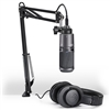Audio Technica AT2020USB+PK Streaming/Podcasting Pack