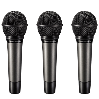 Audio-Technica ATM510 Handheld Cardioid Dynamic Microphone (3 Pack)