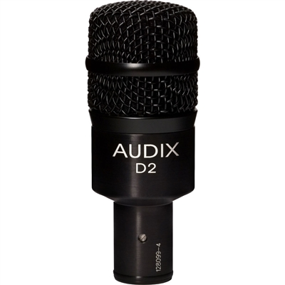 Audix D2 Tom/Snare Microphone - Free Shipping! D 2, AUDXD2, XD2