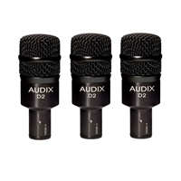 Audix D2 Tom/Snare Microphone (Pack of 3)