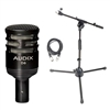 Audix D6 w/ 20ft XLR Cable Plus Drum Boom Stand