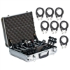 Audix DP7 DP 7 Piece Drum Package with Cables