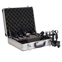 Audix FP7  7-Piece Fusion Drum Microphone Package, AUDXFP7, XFP7