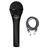 Audix OM7 Hypercardioid Dynamic Mic with 20ft XLR Cable, AUDXOM7-Bundle-1, XOM7