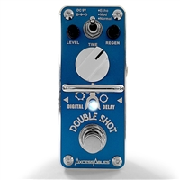 AxcessAbles DS2X DOUBLE SHOT Delay Guitar Pedal