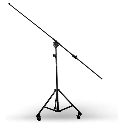 AxcessAbles MB-W Professional Studio Overhead Microphone Boom Stand with Wheels