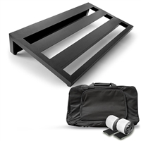 AxcessAbles Guitar Pedal Board Lightweight Aluminum with Carry Bag