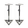 AxcessAbles SMS-101 Heavy Duty Studio Monitor Speaker Stands (Pair)