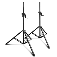 AxcessAbles SMX-266 Tripod Crank-up Speaker Stand (Pair)