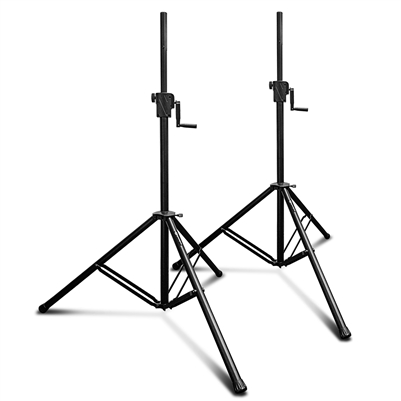 AxcessAbles SMX-266 Two Tripod Crank-up Speaker Stands (Pair)