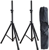 AxcessAbles SSB-101 Speaker Stands with Carrying Bag