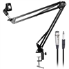 AxcessAbles Swivel Boom Desktop Mount Microphone Boom Arm