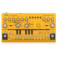 Behringer TD-3-AM Analog Bass Line Synthesizer with VCO, VCF, 16-Step Sequencer, Distortion Effects and 16-Voice Poly Chain