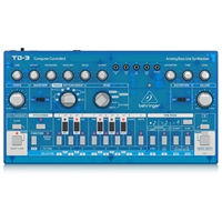 Behringer TD-3-BB Analog Bass Line Synthesizer with VCO, VCF, 16-Step Sequencer, Distortion Effects and 16-Voice Poly Chain