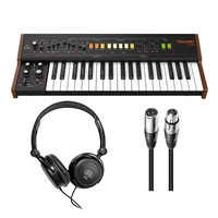 Behringer Vocoder VC340 - Analog Vocoder w/ AxcessAbles Stereo Headphones and AxcessAbles XLR Audio Cable
