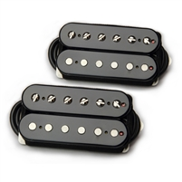 Bare Knuckle Pickups Boot Camp True Grit Humbucker Set Open Black