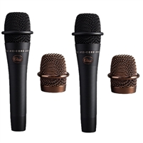 Blue Microphones enCORE 200 Studio-Grade Phantom Powered Active Dynamic Mic Pair
