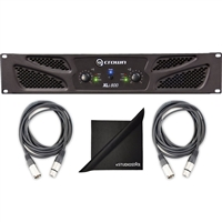 Crown Audio XLi 800 Stereo Power Amplifier w/ AxcessAbles Audio Cable and eStudioStar Polishing Cloth