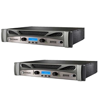 (2) Crown XTI 2002 Series 2 Channel 1000W Stereo Amplifier, CROXTI2002-BUNDLE-1, XTI2002
