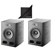 Focal Alpha 65 Pair Active 2-Way 8'' Near Field Professional Monitoring Speakers