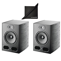 "Pair Focal Alpha 80 Active 2-Way 8"" Near Field Professional Monitoring Speakers"