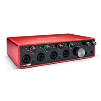 Focusrite Scarlett 18i8 3rd Gen 18-in, 8-out USB Audio Interface