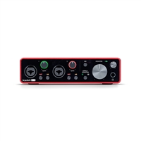Focusrite Scarlett 2i2 2-in, 2-out USB Audio Interface (3rd Gen)