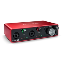 Focusrite Scarlett 4i4 4-in, 4-out USB Audio Interface (3rd Gen)