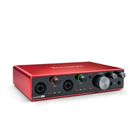 Focusrite Scarlett 8i6 3rd Gen 8-in, 6-out USB Audio Interface