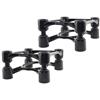 IsoAcoustics Aperta Speaker Stands, Pair (Black)