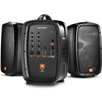 "JBL EON206P - Portable 6.5"" Two-Way PA System With Detachable Powered Mixer"