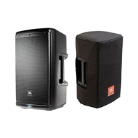 JBL EON610 - 10' Two-Way Multipurpose Self-Powered Sound Reinforcement Speaker and JBL Bags EON610-CVR 5 mm Padding/Water Resistant/ Cover