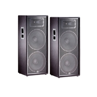 JBL JRX225 12' Passive Two-Way Speaker Pair Package, JBLJRX225-BUNDLE-1, JRX225