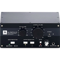 JBL MPATCH2 Passive Stereo Controller and Switch Box