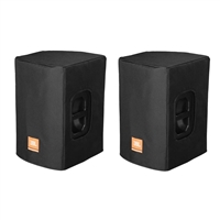 Gator JBL Padded Cover for PRX412M Speaker (Black, Open Handles) Pair