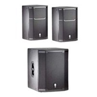 JBL PRX415M 15' (PAIR) Two-Way Speakers with One JBL PRX-418S Subwoofer, JBLPRX415-BUNDLE-3, PRX415
