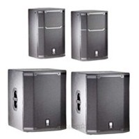 JBL PRX415M 15' Passive Two-Way Speakers (Pair) with JBL PRX-418S  Subwoofers (Pair)