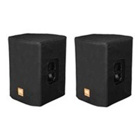 JBL Bags Padded Covers for PRX415M Speakers (Black, Open Handles) (Pair)