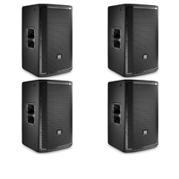JBL PRX812W 12??? Two-Way Full-Range Main System/Floor Monitor with Wi-Fi - 4pcs